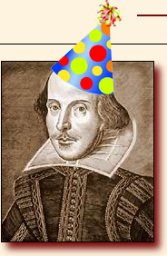shakespeare bday